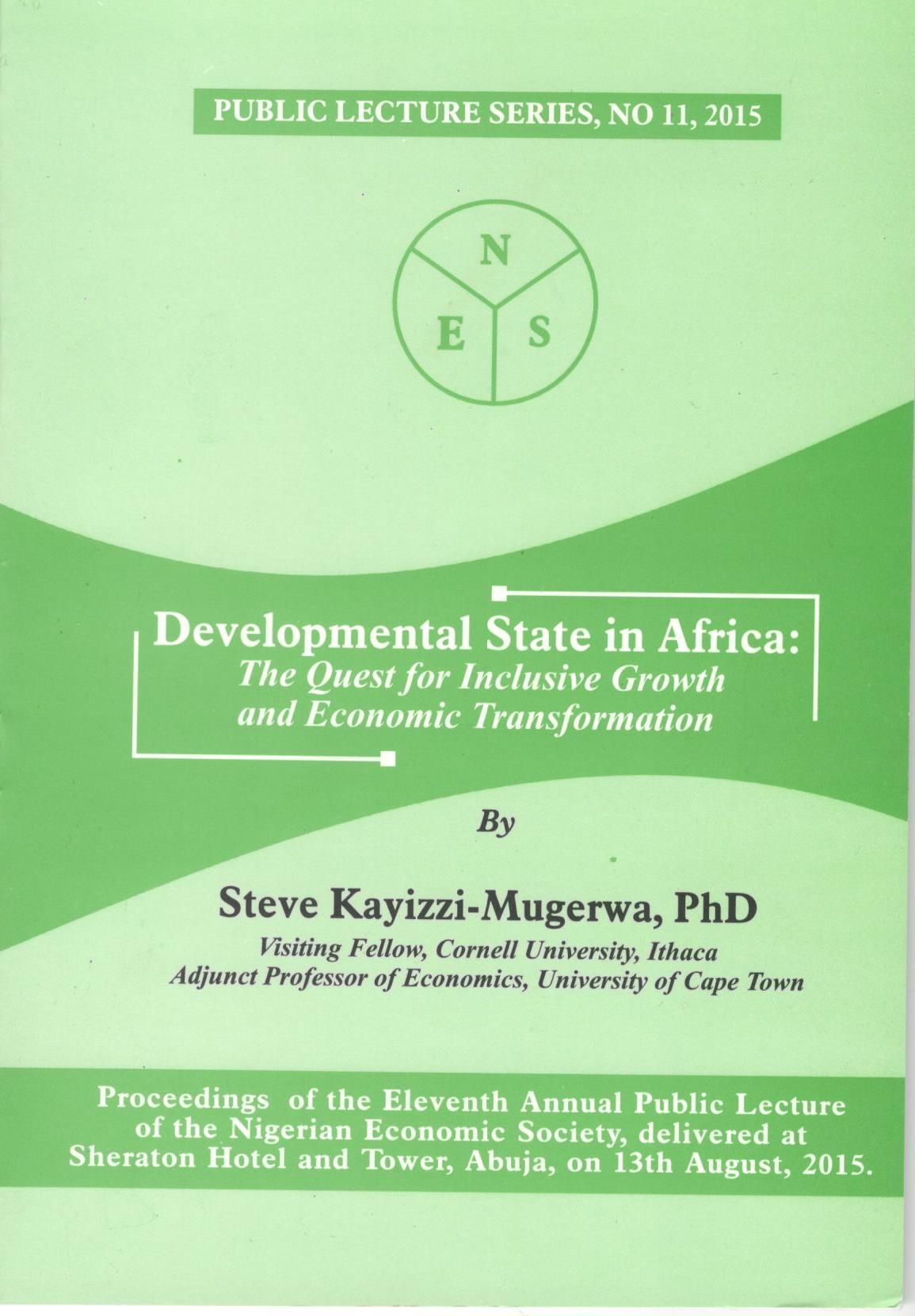 Nigerian Economic Society, NES